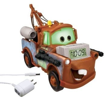 Cars Alarm Clock Light-Up Storyteller, brown