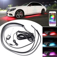 Decorative APP Control RGB Car Flexible LED Lights Strip
