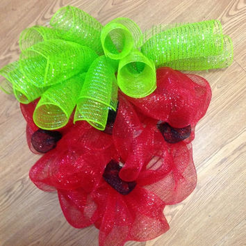 SALE20%OFF Strawberry Deco Wreath