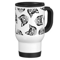 MOLLYCATS in Black - Coffee Mug