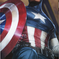Captain America Saves The Day Pro Case For iPhone 5/5S/5C