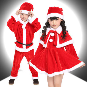 2017 New Christmas Baby Romper Baby Clothing Boy Girl Cloth Set Children Christmas Dress Kid Santa Claus Costume Child Christmas