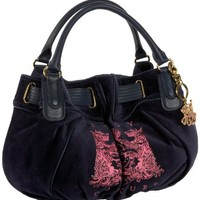 Juicy Couture Scotty Bling Medium Freestyle Satchel