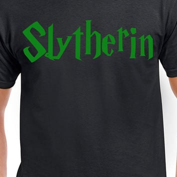 Harry Potter Slytherin Inspired T-shirt