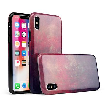 Abstract Fire & Ice V11 - iPhone X Swappable Hybrid Case