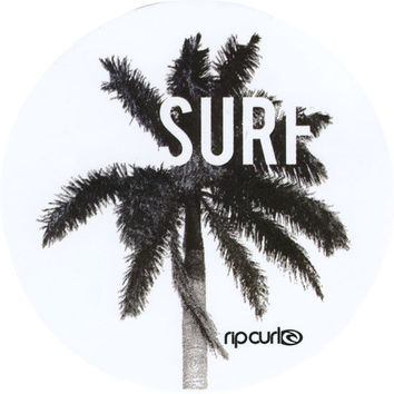 Rip Curl Surf Break Sticker White One Size For Women 25627215001