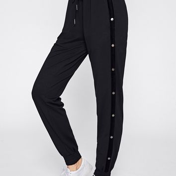 Buttoned Side Sweatpants