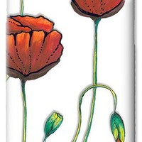 Red Poppies Painting Contemporary Unique Pop Art Style Poppy By Megan Duncanson iPhone 6 Case