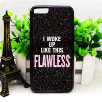 Beyonce I Wake Up Like This Glitter 2 iPhone 6 | 6 Plus | 6S | 6S Plus Cases haricase.com