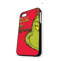 you are a mean one mr.grinch iPhone 5C Case