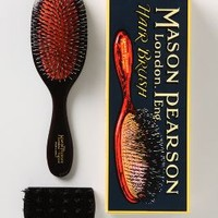 Mason Pearson Handy Brush  in Chocolate Size: Handy Brush Bath & Body