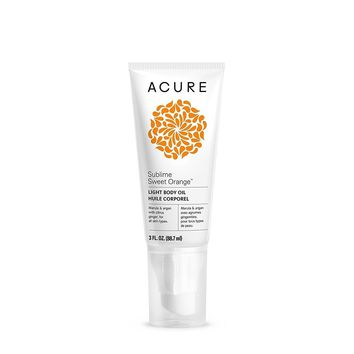Acure Light Body Oil - Sublime Sweet Orange - 3 Fl Oz