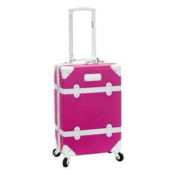 Rockland Luggage, Stage Coach 20-inch Expandable Hardside Spinner Carry-On