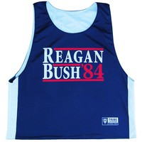 Reagan & Bush 84 Lacrosse Pinnie