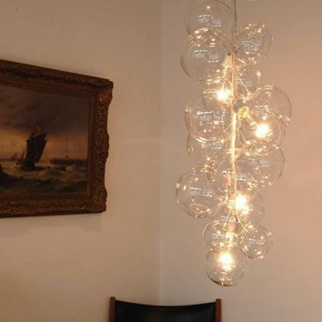 Bubble Chandelier Tall Size by Jean & Oliver Pelle by jeanpelle
