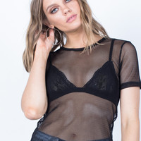 Simply Netted T-Shirt