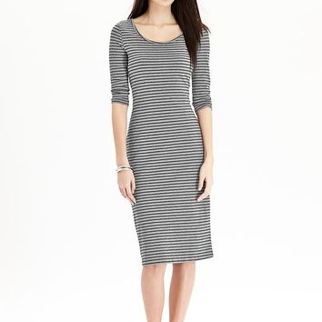 Old Navy Womens Striped Jersey Dresses