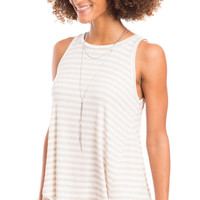 Headliners Striped Tank Top