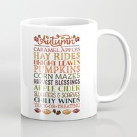 Autumn Fun Mug by Noonday Design