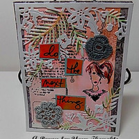 Do the Next Thing Handmade All Occasion Card . Ready to Ship.