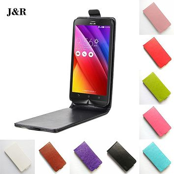 """High Quality Luxury PU Leather Case For Asus Zenfone Go ZB452KG 4.5"""" Case Flip Phone Cover Painted Cartoon Protective Case"""