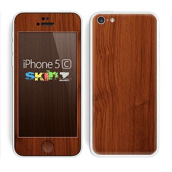 The Rich Wood Texture Skin for the Apple iPhone 5c