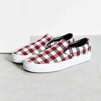 Vans Check Plaid Classic Slip-On Sneaker