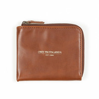 Cheshire Zip Wallet (Caramel)