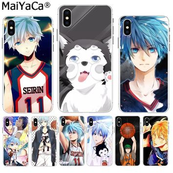 MaiYaCa Kuroko no Basket kawaii anime High Quality Classic High-end Phone case for iPhone 8 7 6 6S Plus X XS max 5 5S SE XR