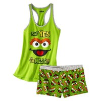 Sesame Street® Junior's Tank & Short Sleep Set - Oscar the Grouch