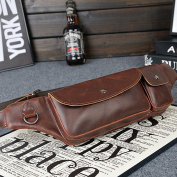 cool boys sports leather bag