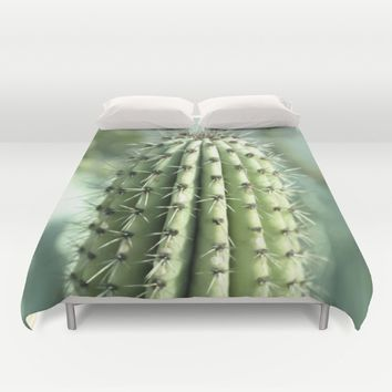 Cactus  Duvet Cover by VanessaGF