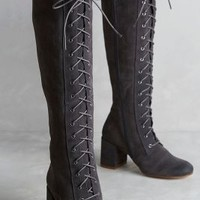 67 Collection Lavinie Boots in Grey Size: