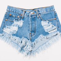 Keepers Stone Cut Off Dreamer Levis Shorts