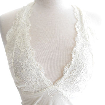 Sugar and Spice Bralette Ivory