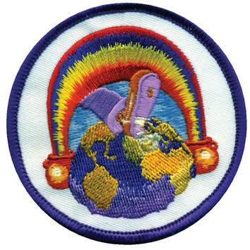 Grateful Dead - Europe 72 Patch