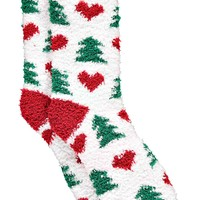 Ellie Heart Christmas Cosy Socks