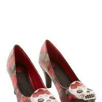 Quirky Give Me a Skull Heel