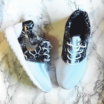 Nike Roshe One Print Women Casual Running Sport Shoes Sneakers