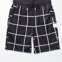 On The Byas Grid Baller Shorts - Mens Shorts - Black