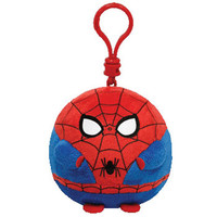 TY Beanie Ballz - SPIDERMAN the Super Hero (Plastic Key Clip - 2.5 inch): BBToyStore.com - Toys, Plush, Trading Cards, Action Figures & Games online retail store shop sale