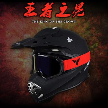 VOSS Motocross Off Road Helmet Dirt Bike Downhill  Helmet Cross Helmet Capacetes Free Shipping Mtb Dh Racing Motorcycle Adult