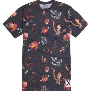 Neff Toy Story T-Shirt - Mens Tee - Black