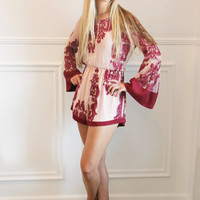 Burgundy Love Romper – Ivy Lane