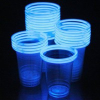Amazon.com: 48 Glow Stick Party Cups (16-18 oz): Toys & Games