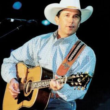 George Strait Poster Guitar 24in x36 in