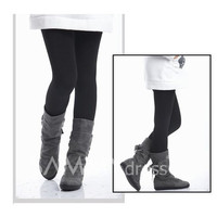 Comfortable Style Laconic and Mix-Matched Thicken Nine-Cent Leggings For Women/Girl