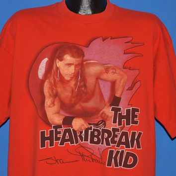 90s Shawn Michaels Heartbreak Kid WWF t-shirt Extra Large