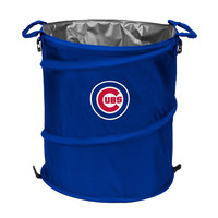 Chicago Cubs MLB Collapsible Trash Can