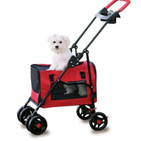 Fresh Air Pet Stroller 3 In 1 -  Carrier 17 X 11 X 10, Stroller 23 X 3